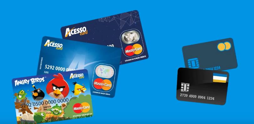 AcessoCard – Cartão Pré-pago Mastercard
