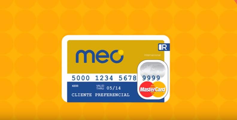 Cartão Meo, o seu cartão de crédito!